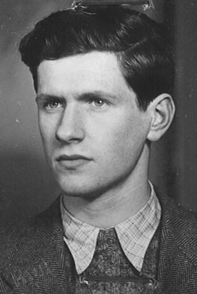 Eric Blaustein, 1941. Photo courtesy of Alverno College.