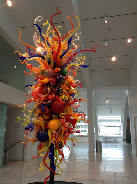 Chihuly sculpture. Photo by Cari Taylor-Carlson.