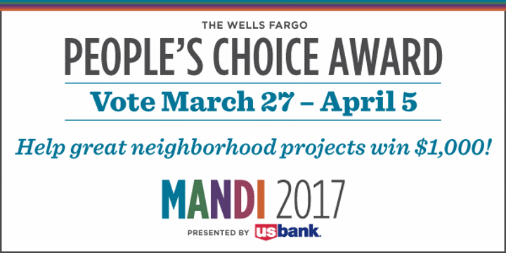 People's Choice Award Encourages the Public to Vote For Milwaukee Improvement Projects and Leaders