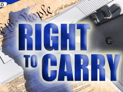 "Representative Mary Felzkowski and Senator David Craig Release the ""Right to Carry Act"""