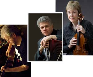 Carroll, McComiskey and Sproule at the Irish Cultural & Heritage Center Friday, April 2l