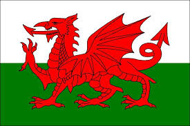 The Village of Wales uses the Red Dragon from the Welsh flag as their town logo.