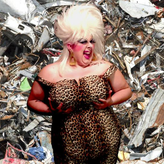 Divine Trash. Photo courtesy of Annaleigh Vytlacil.