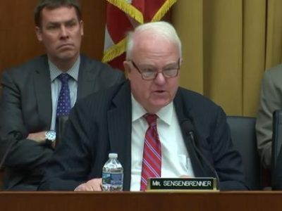 Sensenbrenner Rapid DNA Legislation to be Signed into Law