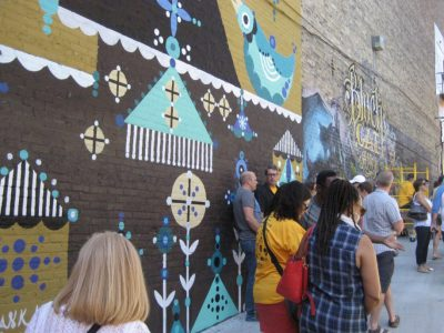 Black Cat Alley will unveil three new works at its Mural Festival 9/22-9/23