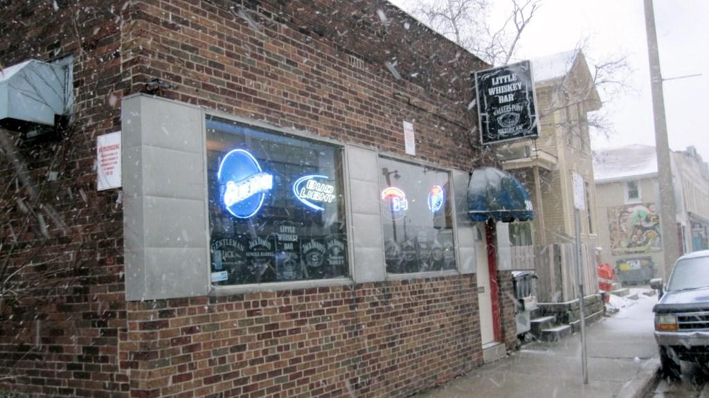 Little Whiskey Bar. Photo by Michael Horne