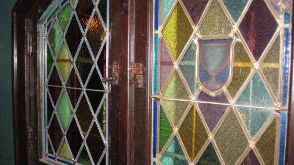 Leaded Glass. Photo by Michael Horne.