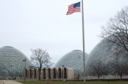 A recently released report on the Domes, located at Mitchell Park in Clarke Square, cited a much lower repair cost than previous estimates. (Photo by Edgar Mendez)