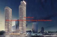 Potential Second Tower at The Couture (Urban Milwaukee made image from rendering by Rinka Chung Architecture)