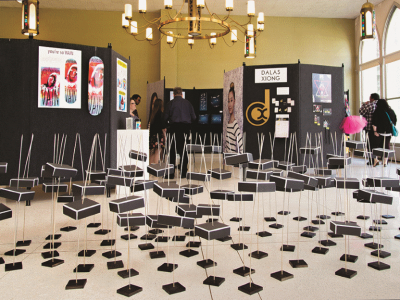 CREO on campus: Celebration of senior projects encompasses art and design