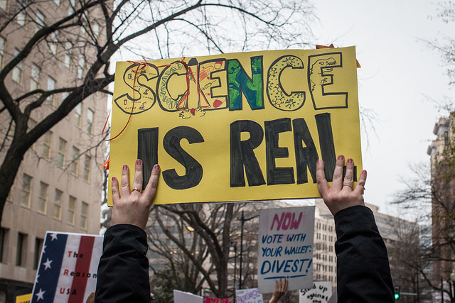 Marches will be held around the globe in support of science. Image: Liz Lemon, Flickr