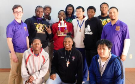 The Washington High School chess team placed 11th in the state tournament. Photo courtesy of Micheal Moore.