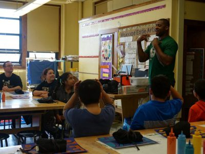Former Bucks Player Inspires Students