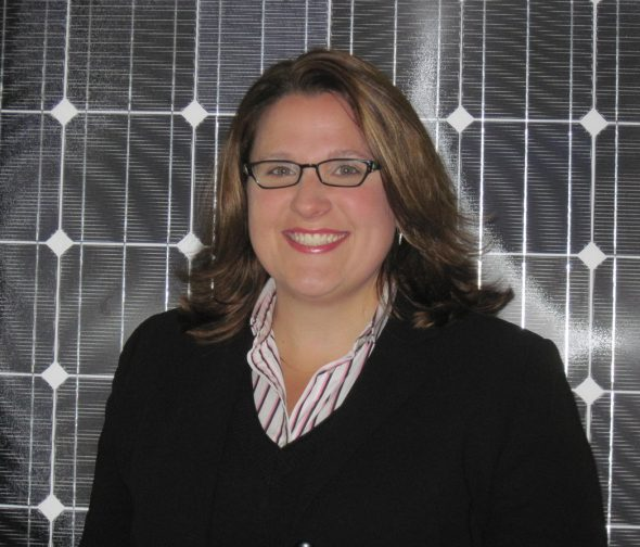 Amy Heart, based in Milwaukee, is the director of public policy at Sunrun.