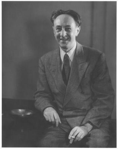 Bohuslav Martinů in 1945. Photo is in the Public Domain.