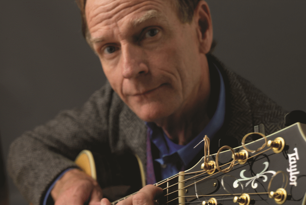 Livingston Taylor. Photo by Albie Colantonio courtesy of the Sharon Lynne Wilson Center for the Arts.