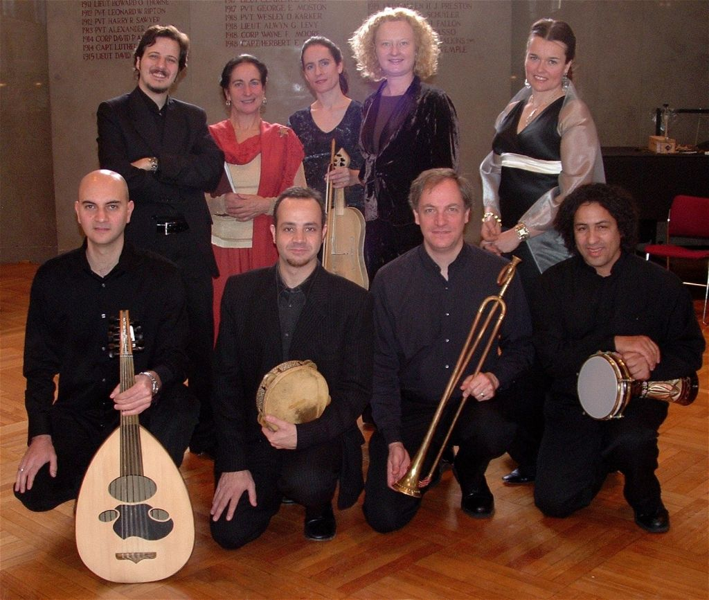 Early Music Now Presents The Boston Camerata with SHARQ Arabic Music Ensembl