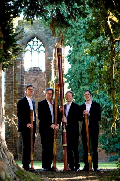 The Flanders Recorder Quartet (Belgium). Photo courtesy of Early Music Now.
