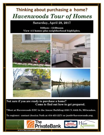 Havenwoods to hold tour of homes this Saturday