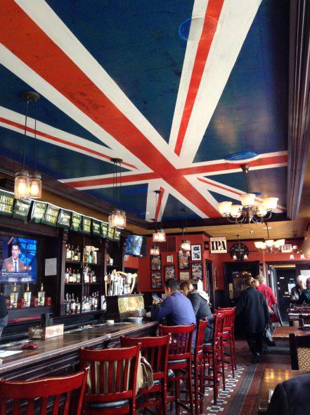 Red Lion Pub. Photo by Cari Taylor-Carlson.