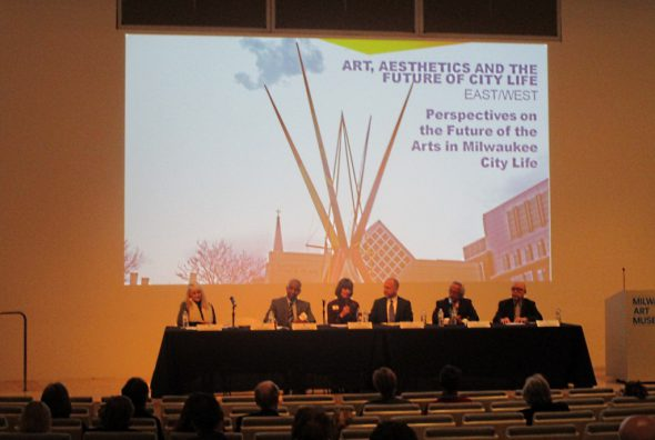 Perspectives on the Future of the Arts in Milwaukee City Life. Photo by Dave Fidlin.