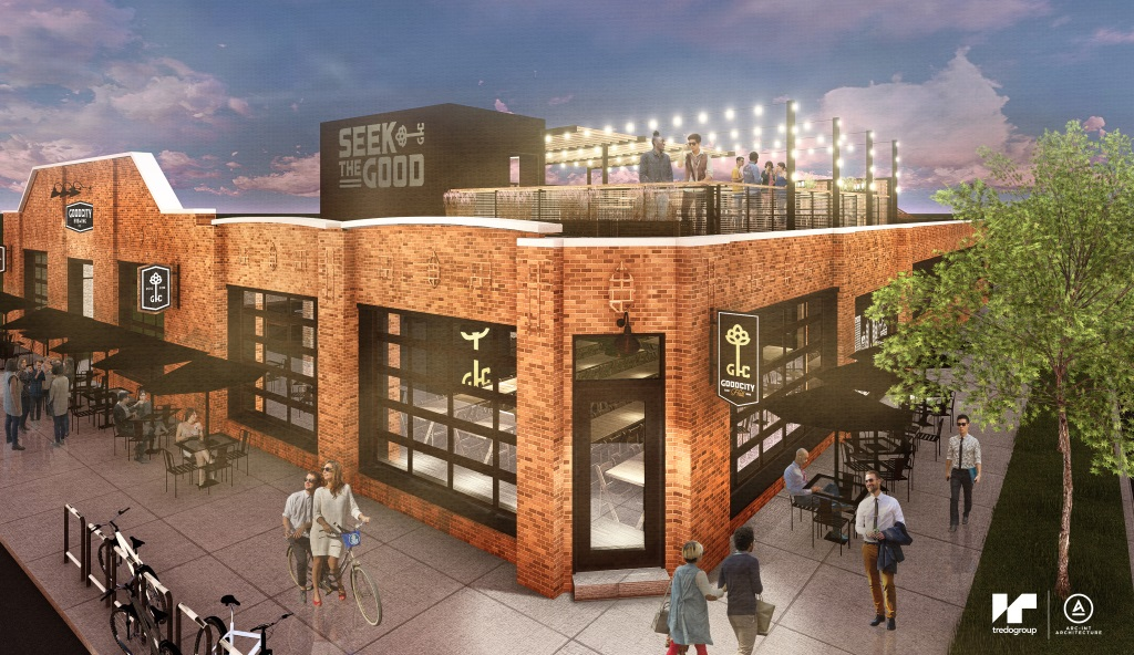 Good City Brewing expansion. Rendering by Tredo Group LLC.