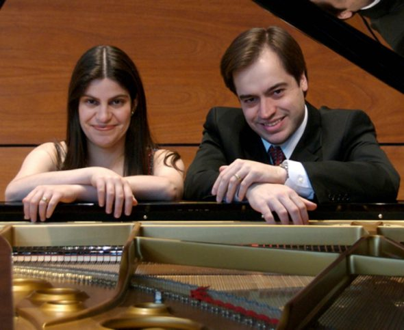 Gisele and Fabio Witkowski.