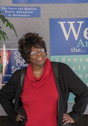 Annie Woodward. Photo courtesy Annie Woodward for Education.