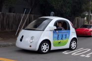 A Google Self-Driving Car. Photo by Grendelkhan