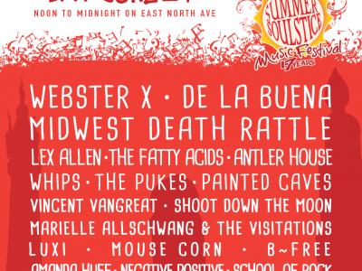 Summer Soulstice Music Festival Announces 2017 Lineup