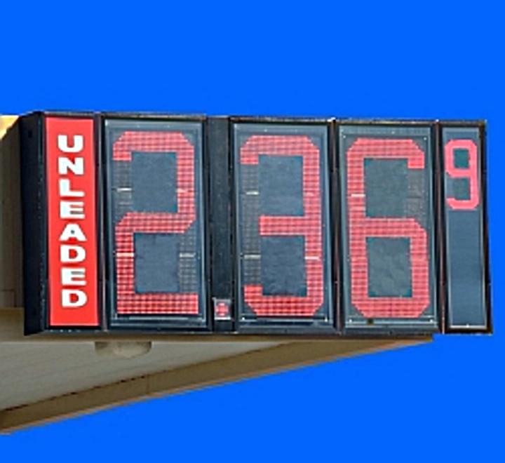 Gas price.