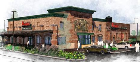 Portillo's in Greenfield. Rendering courtesy of Portillo's.