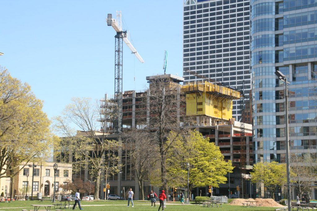 Northwestern Mutual's New Tower is Rising