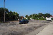 Surface parking lot at 385 E. Stewart St. Photo by Jeramey Jannene.