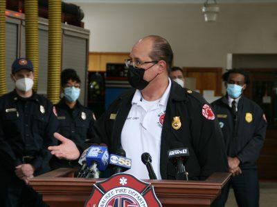 City Hall: Barrett Backs Lipski For Fire Chief