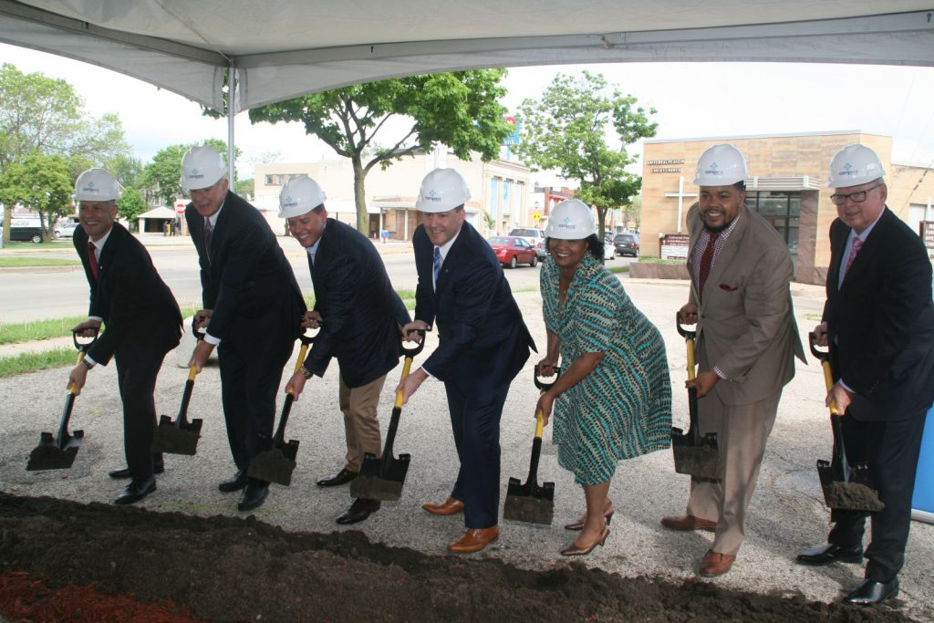 BMO Harris Bank Groundbreaking