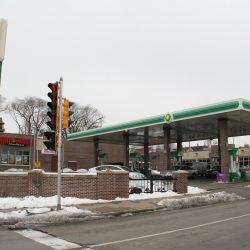BP Gas Station, 405 N. 27th St. Photo taken January 12th, 2021 by Jeramey Jannene.