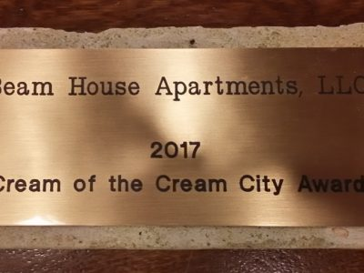 Madisen Maher Architects (MMA) announces a <em>Cream of the Cream City</em> Award from the Historic Preservation Commission for the Historic Beam House at River Place Lofts
