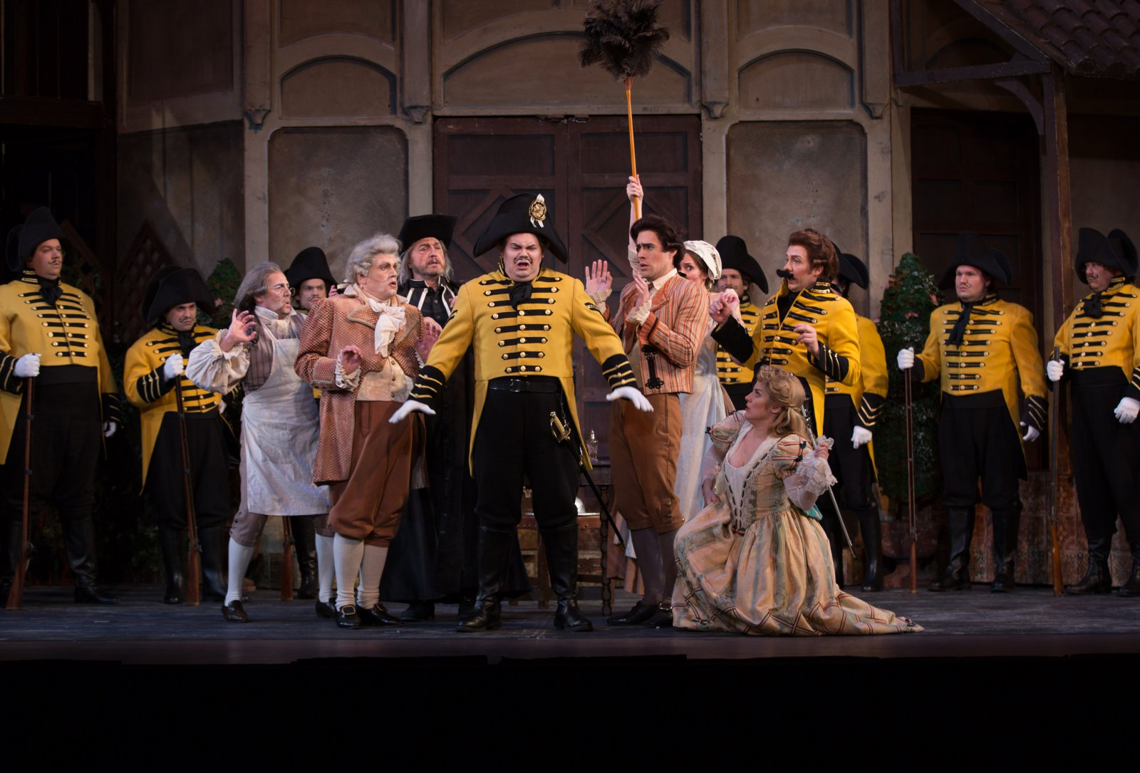 """""""The Barber of Seville."""" Photo courtesy of the Florentine Opera Company."""
