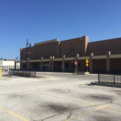 Vacant Wal-Mart at 5825 W. Hope Ave. Photo by Alison Peterson.