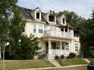 Eyes on Milwaukee: 4-Unit Building Would Replace Fire-Damaged Home on Downer Ave