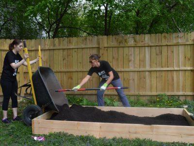 500 New Community Gardens