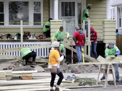 30 Homes On One Block Repaired