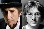 Bob Dylan and John Lennon