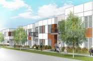 The Hills Luxury Commons. Rendering by Engberg Anderson Architects.