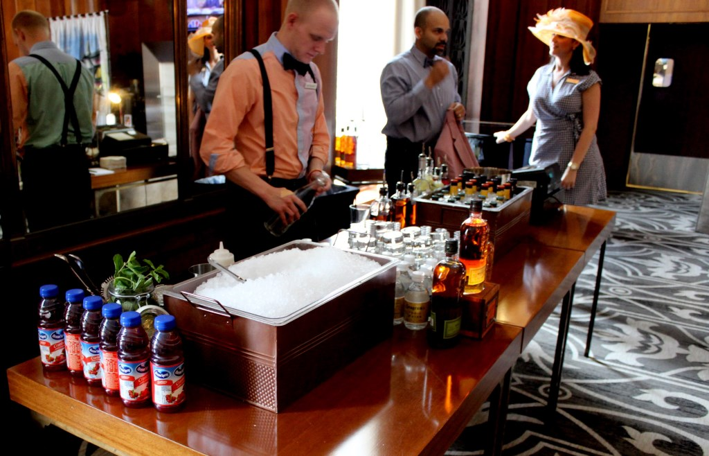 Derby Cocktails. Photo courtesy of the Hilton Milwaukee City Center.