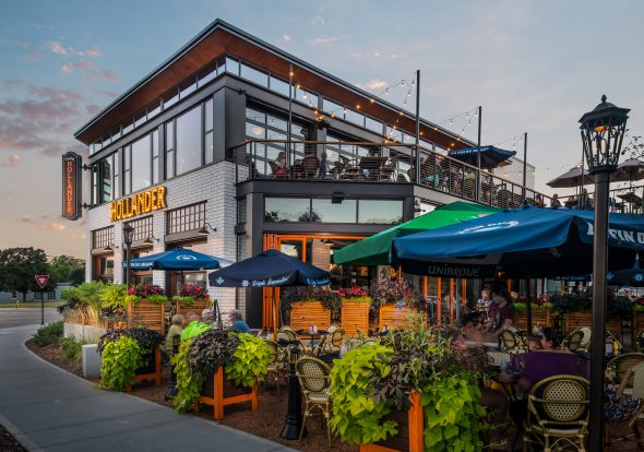 Café Hollander in Mequon. Photo courtesy of Lowlands Group.