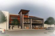 Hope Street Ministries community center rendering. Rendering by Galbraith Carnahan Architects