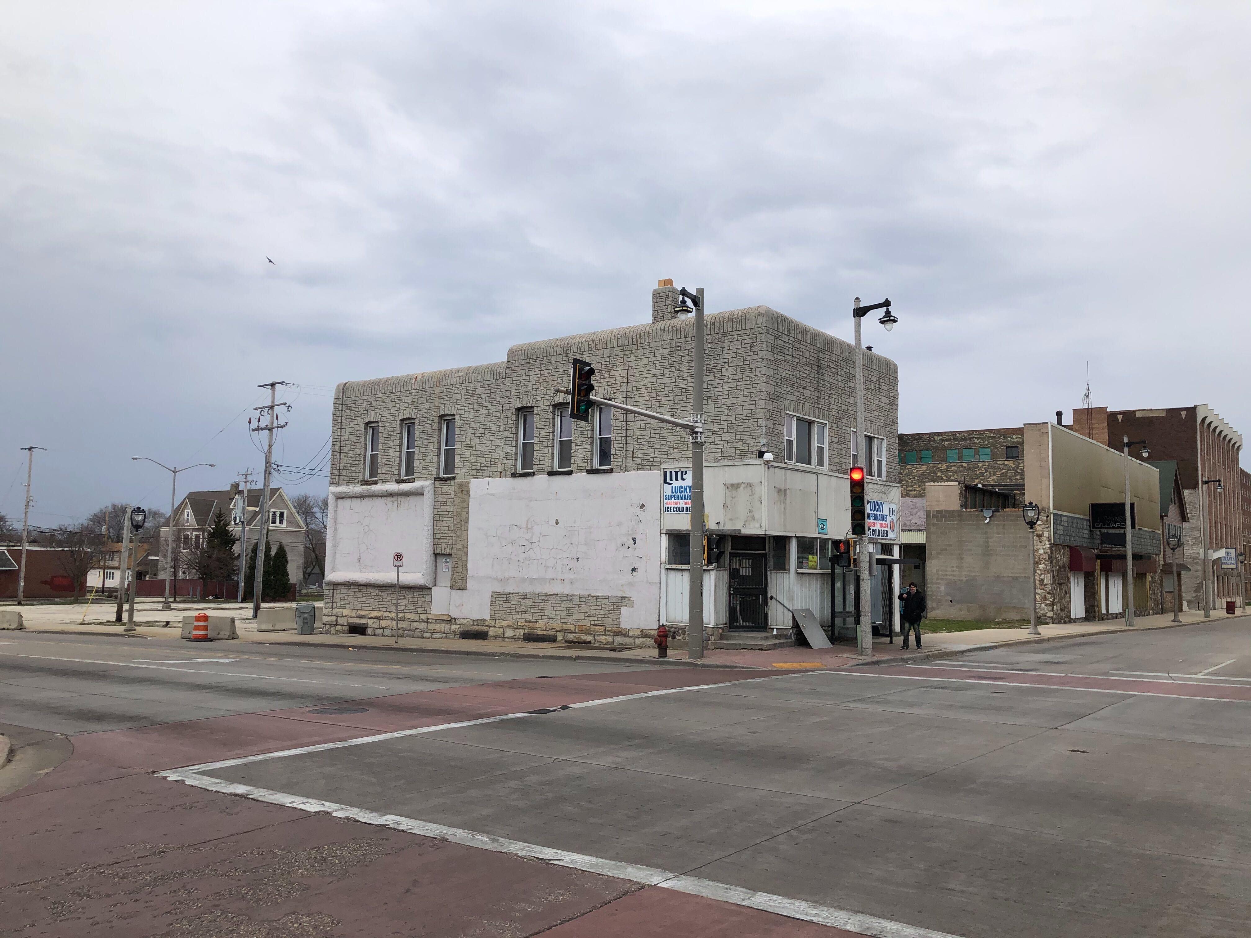 27th and Wisconsin development site. Photo by Jeramey Jannene.