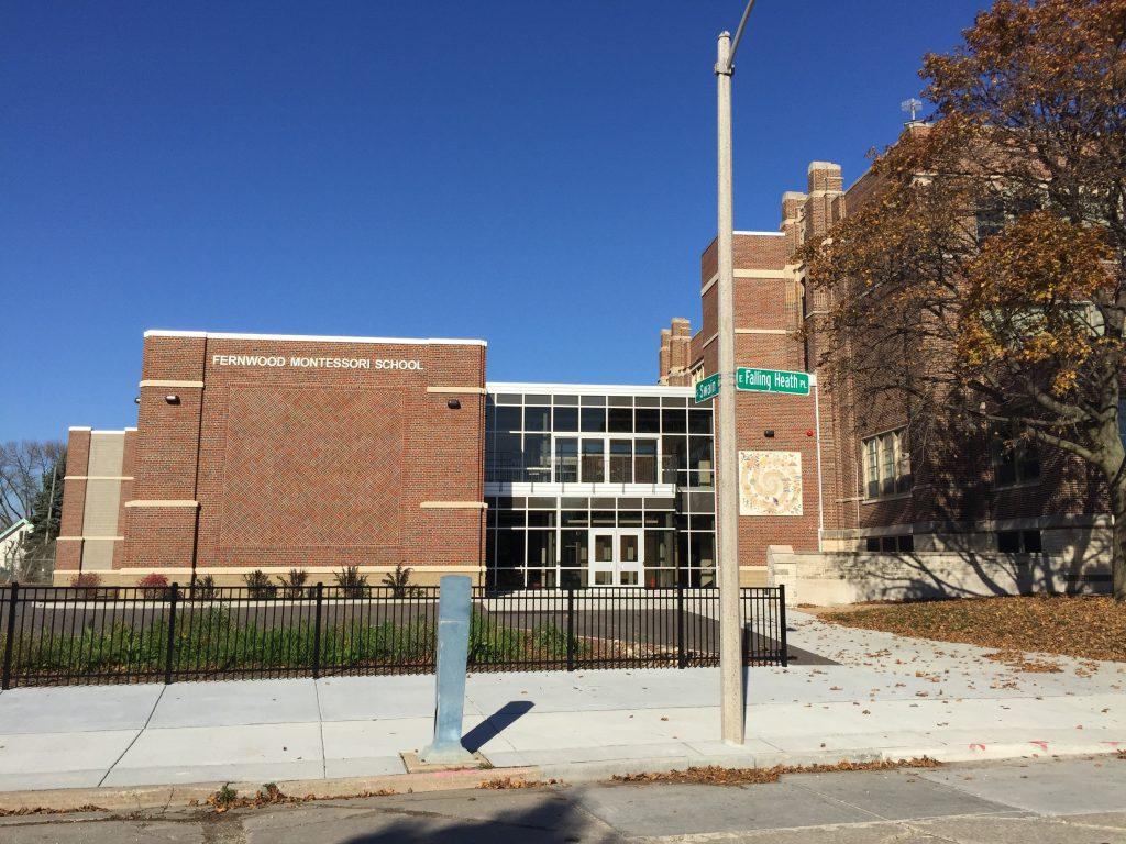 Fernwood Montessori School. Photo by Dave Reid.